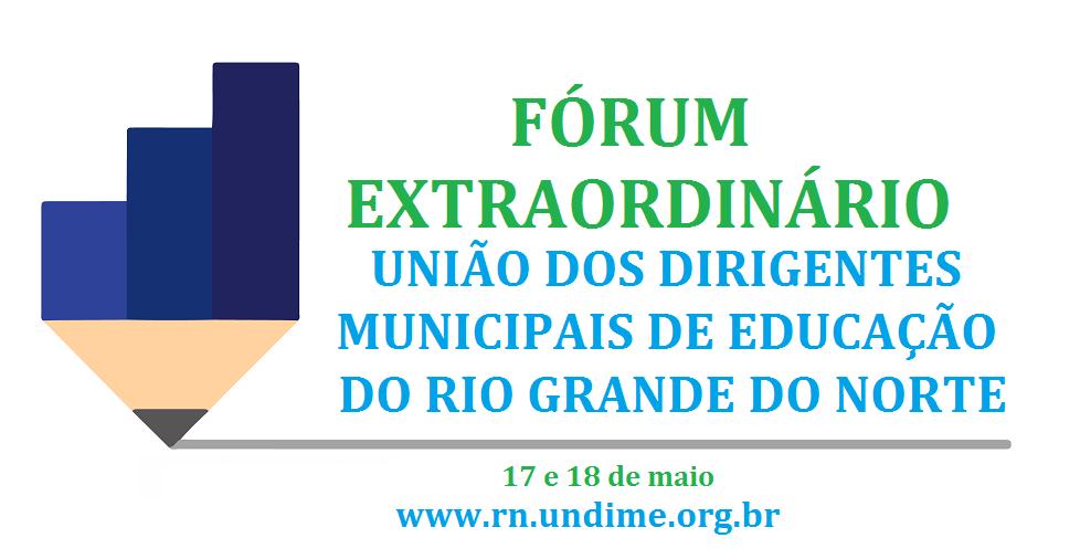 Abertas as inscrições para o fórum extraordinário
