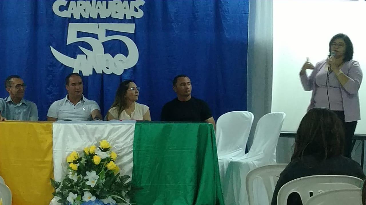 Undime-RN promove seminário regional em Carbaubais