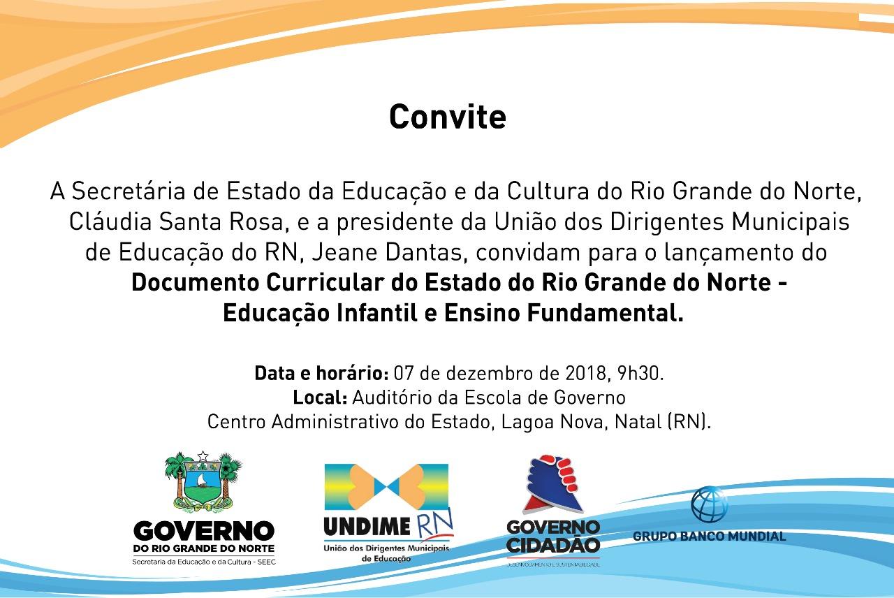 Rio Grande do Norte ganhará Documento Curricular para Educação Infantil e Ensino Fundamental