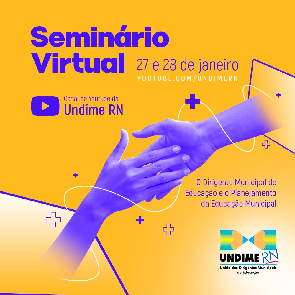 Live virtual vai acolher Dirigentes e equipes municipais da Educação do Rio Grande do Norte